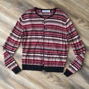 Burberrys Vintage Striped Cardigan